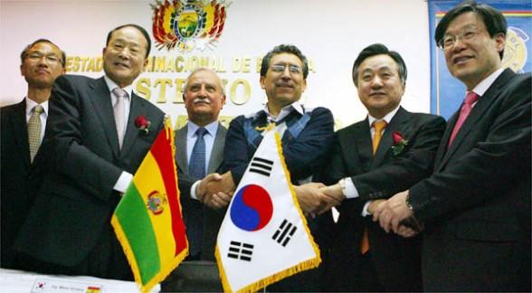 bolivia y corea del sur