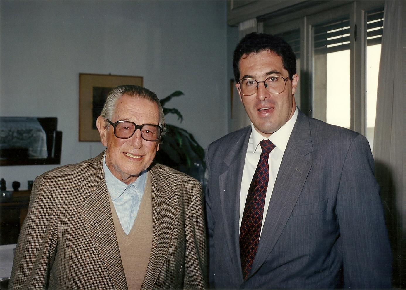 marcelo gullo junto al historiador  revisionista uruguayo Whashington Reyes Abadie